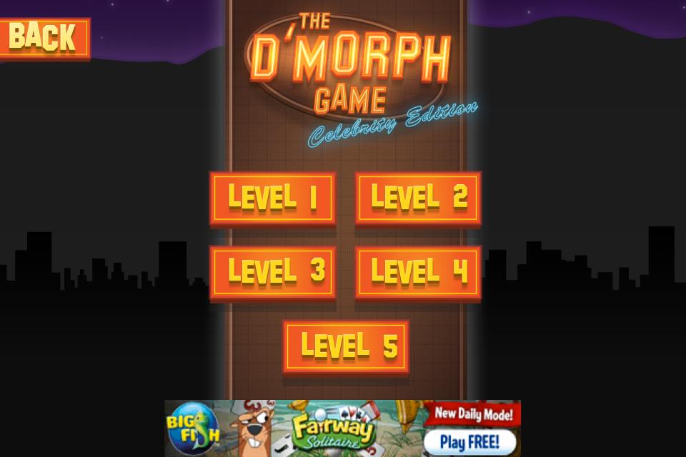 Screenshot D'Morph – Celebrity Edition