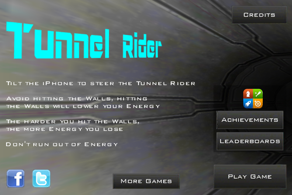 Screenshot Tunnel Rider